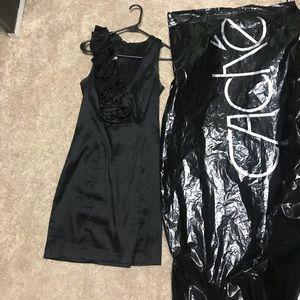 Cache black cocktail dress